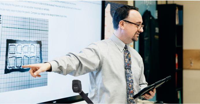 Teacher signaling screen